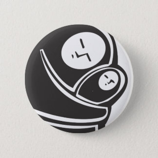 Simple Islamic Mother 2 Inch Round Button