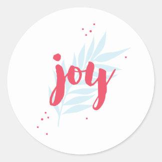 Simple Joy Foliage custom sticker