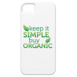 Simple Keep it buy organic iPhone 5 Cases