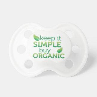 Simple Keep it buy organic Pacifiers