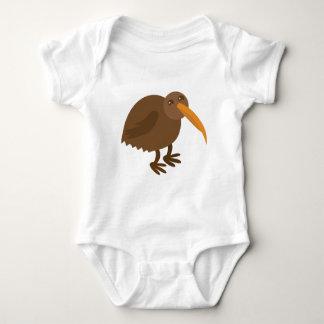Simple KIWI Bird Baby Bodysuit
