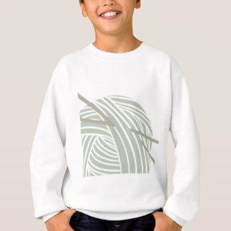 SImple Knitting Ball of Yarn Sweatshirt
