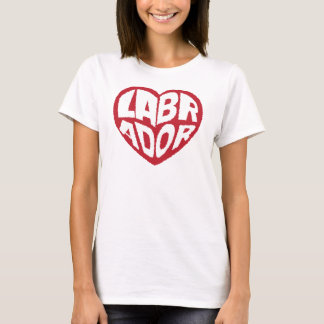 Simple Labrador Doggy Love T-Shirt