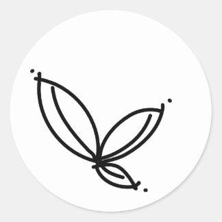 Simple Leaf Sticker
