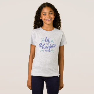 Simple Let the Adventure Begin   Jersey Shirt