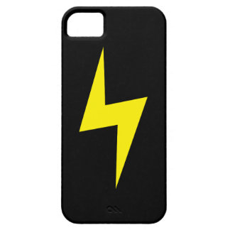 Simple Lightning Bolt Dark iPhone 5 Case