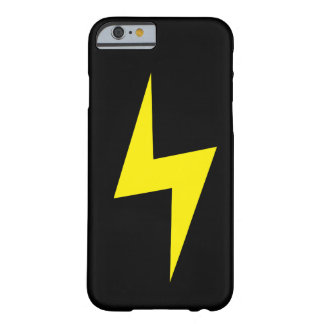 Simple Lightning Bolt Dark iPhone 6 case Barely There iPhone 6 Case