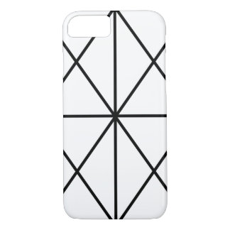Simple-Lined Case / Black & White