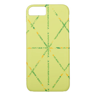 Simple-Lined Case / Soft Yellow & Foliage