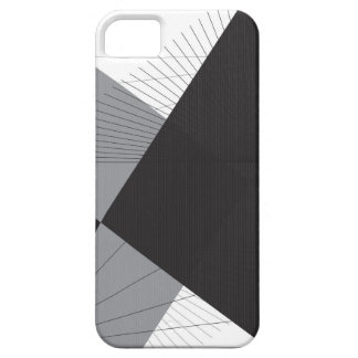 Simple Lines and Triangles iPhone 5 Cases