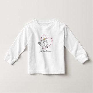 Simple Little Miss Princess | Pink Heart Toddler T-shirt