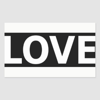 Simple Love love statement Sticker