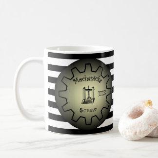 Simple Machines ~ Inclined Plane ~ Lever ~ Screw ~ Coffee Mug