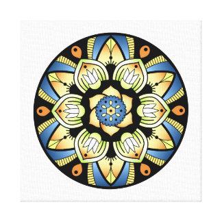 Simple Mandala 3 Canvas Print