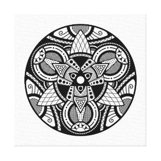 Simple Mandala 4 Canvas Print