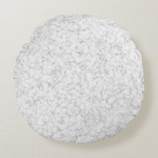 Simple Marble Round Pillow