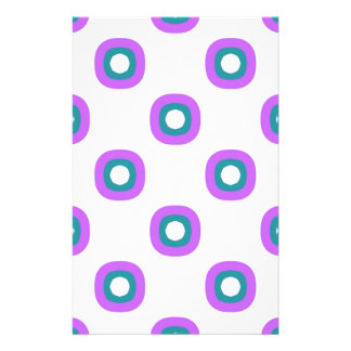 Simple marker drawing pattern stationery paper