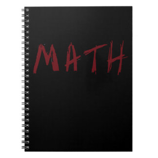 Simple MATH Notebook