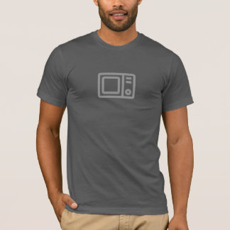 Simple Microwave Icon Shirt