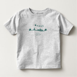 Simple Minimal Santa Claus Christmas Shirt