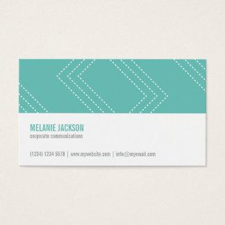 Simple Mint minimalist modern feminine chic card