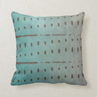Simple Modern Abstract Ombre Throw Pillow