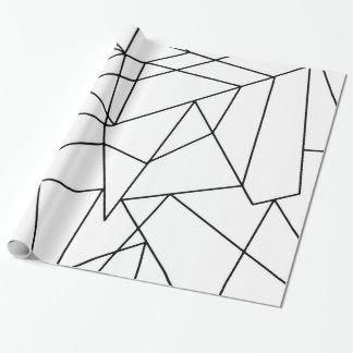 Simple Modern Black and White Geometric Pattern