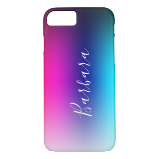 Simple Modern Color Blend Abstract Background Case-Mate iPhone Case
