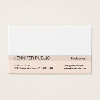 Simple Modern Professional Elegant Harmonic Colors Business Card