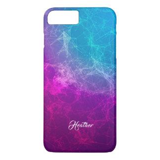 Simple Modern Purple & Blue Polygonal Background iPhone 8 Plus/7 Plus Case