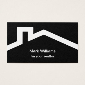 Simple Modern Realtor Design Business Card