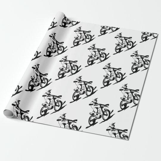 Simple Motorcross Bike and Rider