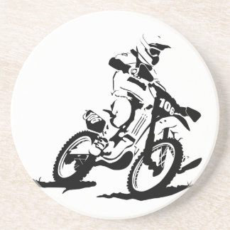Simple Motorcross Bike and Rider Coaster