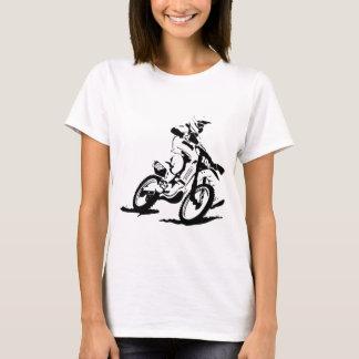 Simple Motorcross Bike and Rider T-Shirt