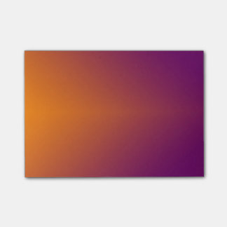 Simple Orange To Purple Post-it Notes