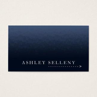 Simple Palette Knife Business Card