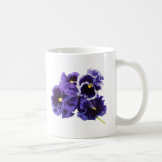 Simple Pansy Mug - No Text