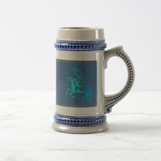 Simple Pegasus Beer Stein