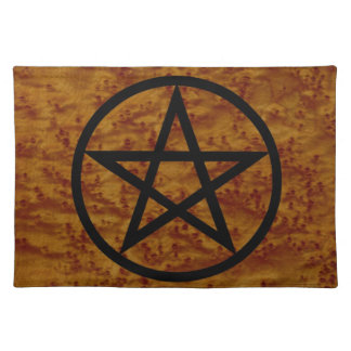 Simple Pentangle Spiritual Sacred Space Altar Mat