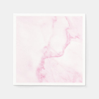 Simple & Perfect Pink Marble Napkin Disposable Napkin