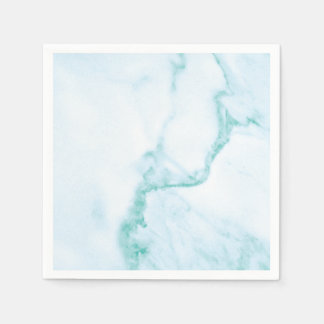 Simple & Perfect Turquoise Marble Napkin Paper Napkin