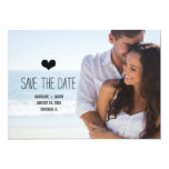 Simple Photo Save the Date Announcements