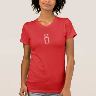 Simple Pink Info Icon Shirt