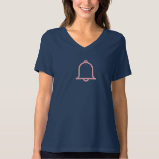Simple Pink Motification Icon Shirt