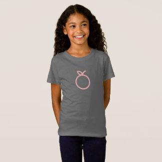 Simple Pink Orange Icon Shirt