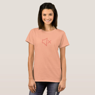 Simple Pink Sound Off Icon Shirt