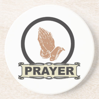 Simple prayer coaster