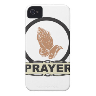 Simple prayer iPhone 4 cover