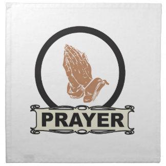 Simple prayer napkin