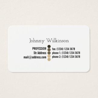 Simple professinal minimalist look business card